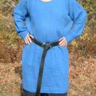 Image of Linen long sleeve tunic basic and extended sizes